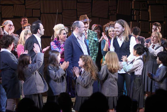 MATILDA y ONCE, intercambio de cromos entre Broadway y el West End